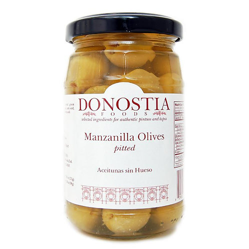 Donostia Spanish Manzanilla Olives Pitted