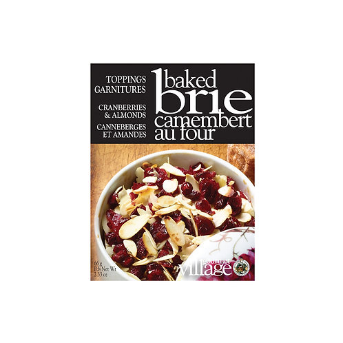 Gourmet du Village Cranberry & Almond Baked Brie Topping