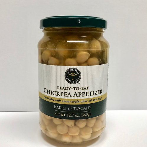 Ready-to-Eat Tuscan Chickpea Appetizer
