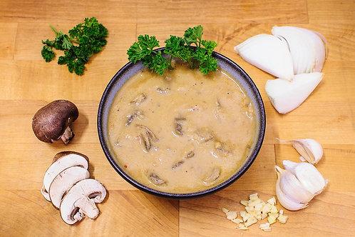 Papparedelle's Marsala Cream Sauce with Champignon Mushrooms