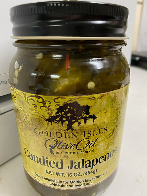 Golden Isles Olive Oil Candied Jalapenos