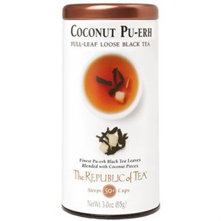 Coconut Pu-erh Loose Leaf Tea