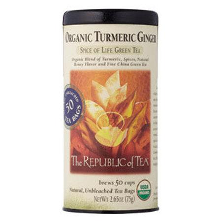 Organic Tumeric Ginger Green Tea
