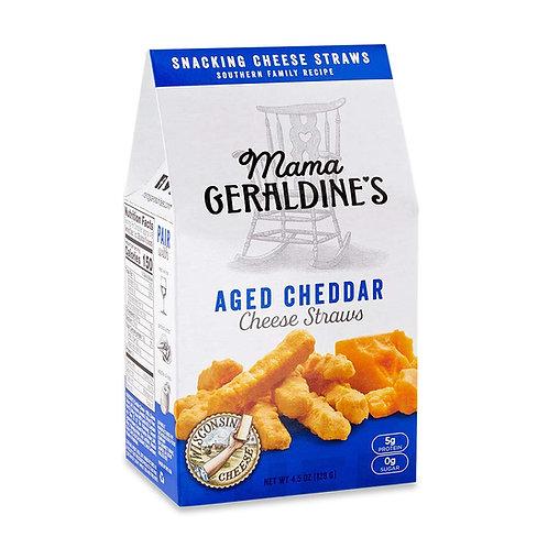 Mama Geraldine's Aged Cheddar Cheese Straws