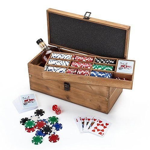 Poker and Liquor Box Set