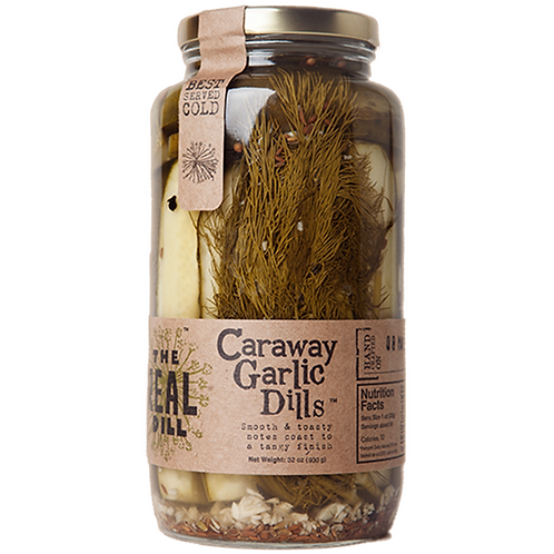 The Real Dill Caraway Garlic Dills