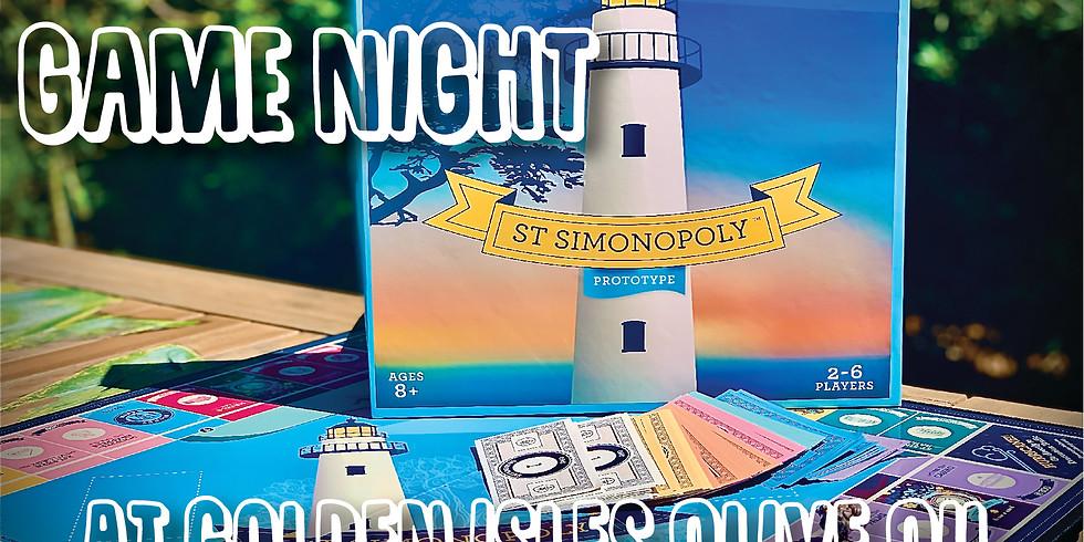 Game Night- St. Simonsopoly