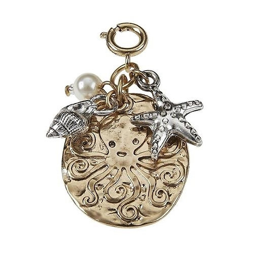 Gold Octopus Charm