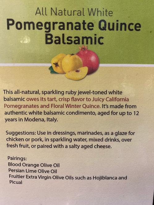 Pomegranate Quince Balsamic