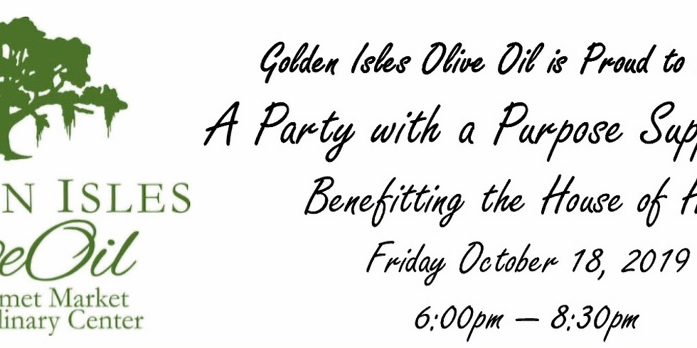 Party with a Purpose Benefitting The House of Hope