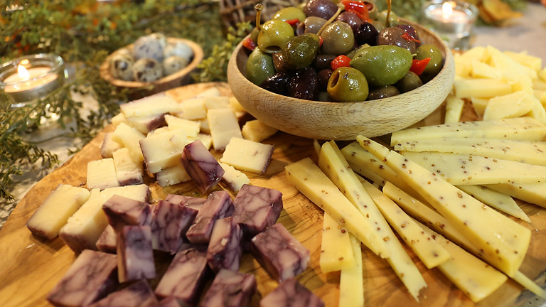 The Art of the Cheese and Charcuterie Board