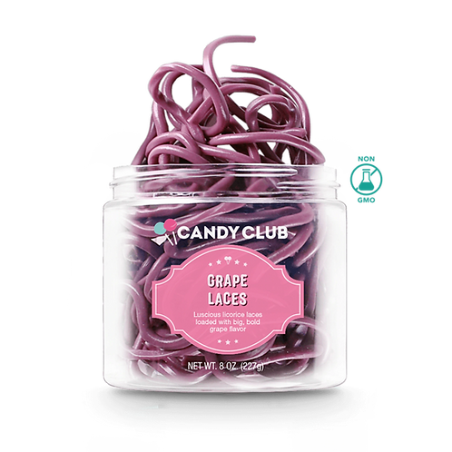 Candy Club Grape Laces