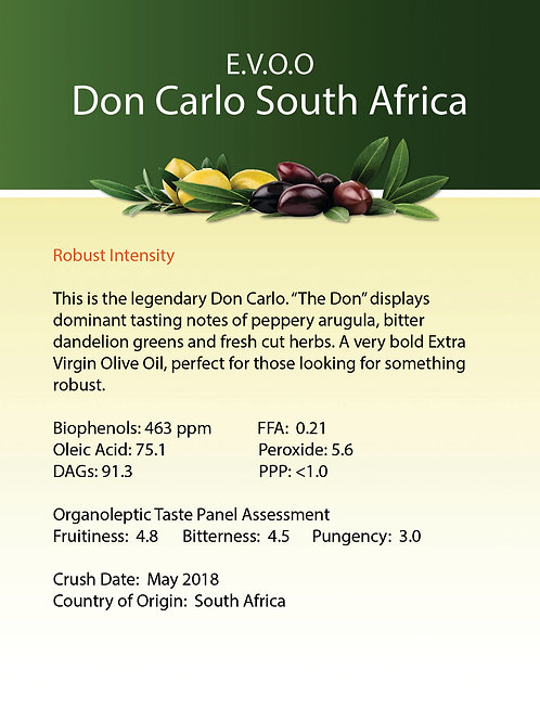 Don Carlo South Africa