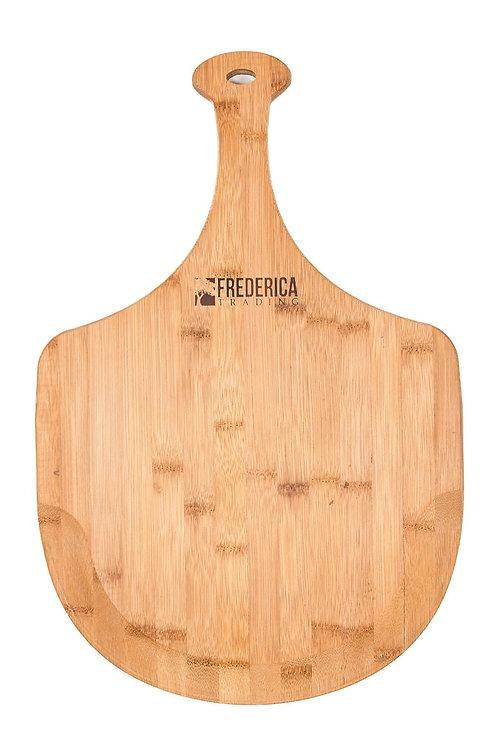 Premium Bamboo Pizza Peel & Cutting Board
