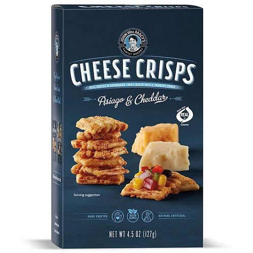 Asiago & Cheddar Cheese Crisps