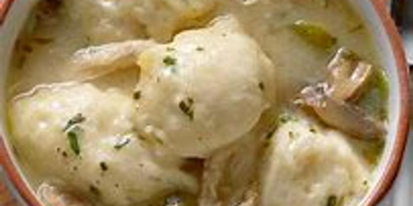 Homemade Chicken & Dumplings w/Chef Jeff Montaigne