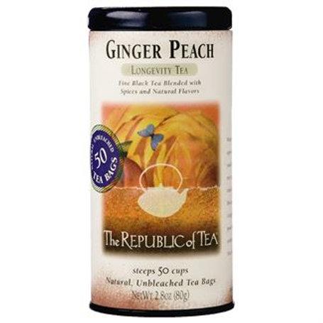 Ginger Peach Black Tea