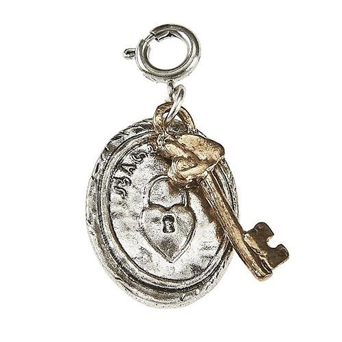 Lock and Key Charm