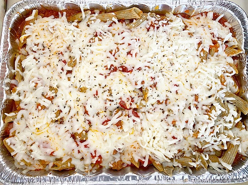 Tuscan Herb Penne Pasta with Meat Sauce