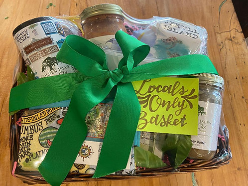 Golden Isles Local Gift Basket
