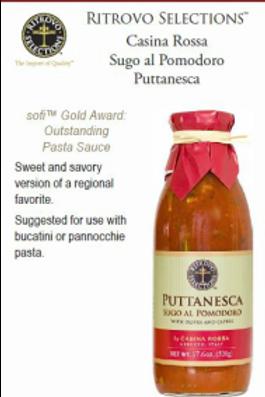 Pomodoro Puntanesca Sauce