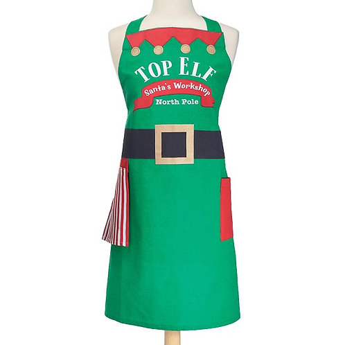 Top Elf Apron