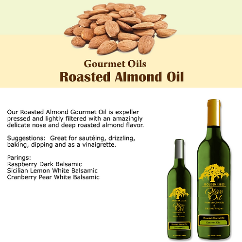 Roasted Almond Extra Virgin Olive Oil