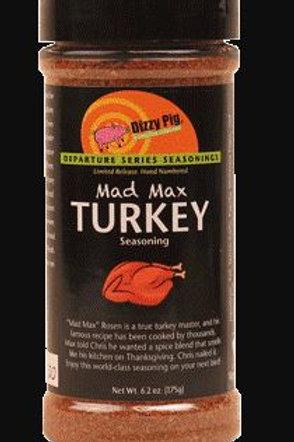 Dizzy Pig Mad Max Turkey Seasoning