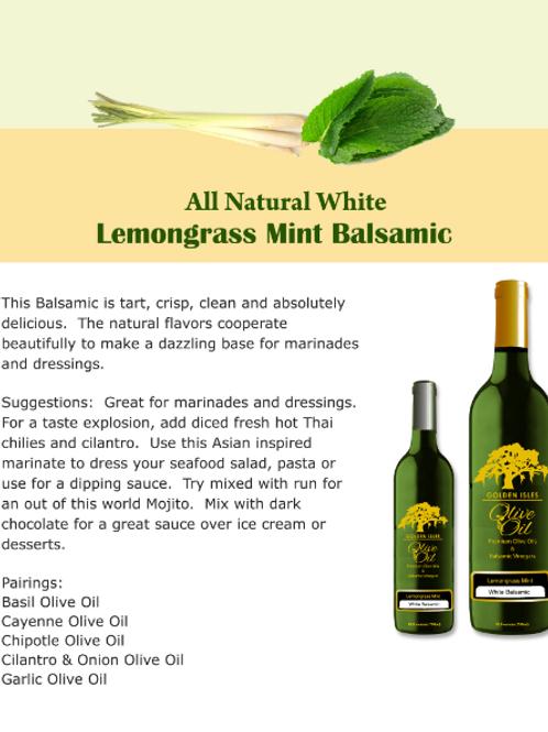 Lemongrass Mint Balsamic