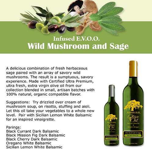 Wild Mushroom and Sage Olive Oil