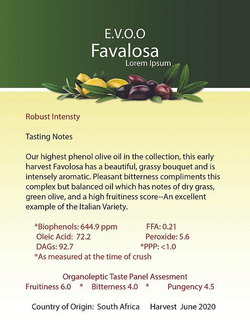 Favoloso Extra Virgin Ultra Premium Olive Oil
