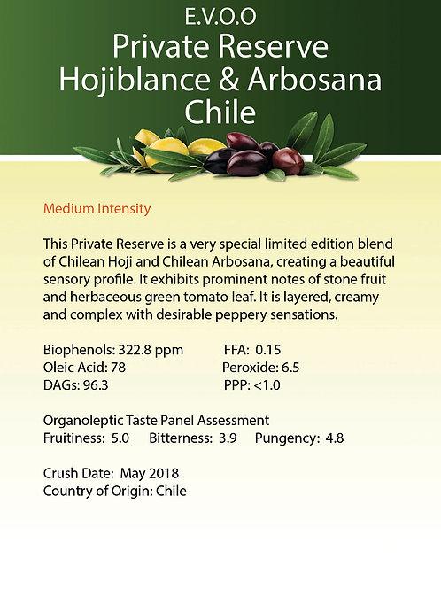Private Reserve Hojiblanca & Arbosana Chile