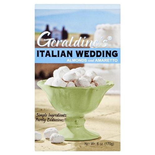 Geraldine's Italian Wedding Almonds and Amaretto cookies