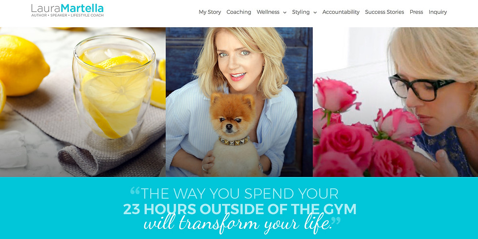 Mindful Monday with Author and Lifestlye Coach Laura Martella