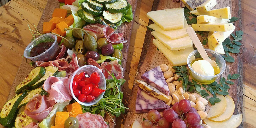 The Art of the Cheese & Charcuterie Board