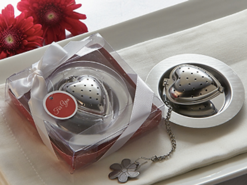 """Love is Brewing"" Heart Tea Infuser"
