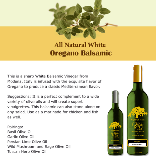 Oregano Balsamic