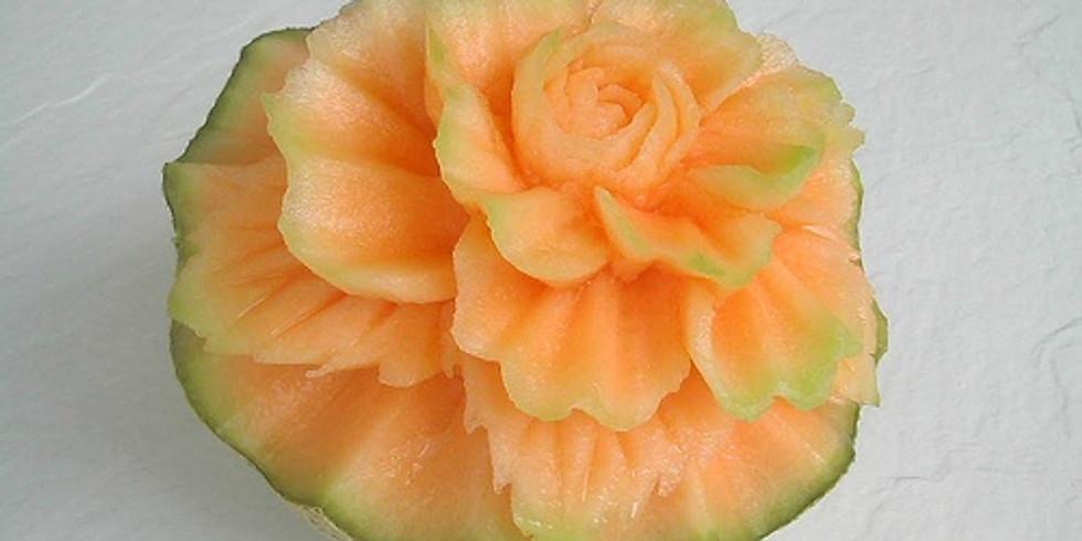 Melon Carving Class w/ Justin Davidson