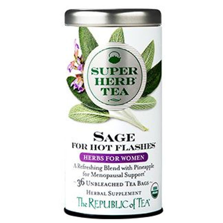 Sage Super Herb Tea for Hot Flashes