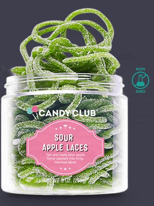 Candy Club Sour Apple Laces