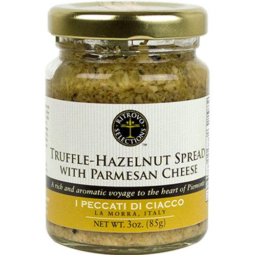 Truffle Hazelnut Spread with Parmesan Cheese