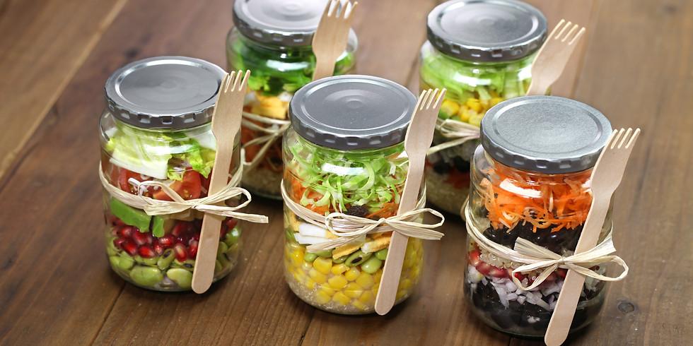 Mason Jar Salads and Healthy Snacks Meal Prep Series
