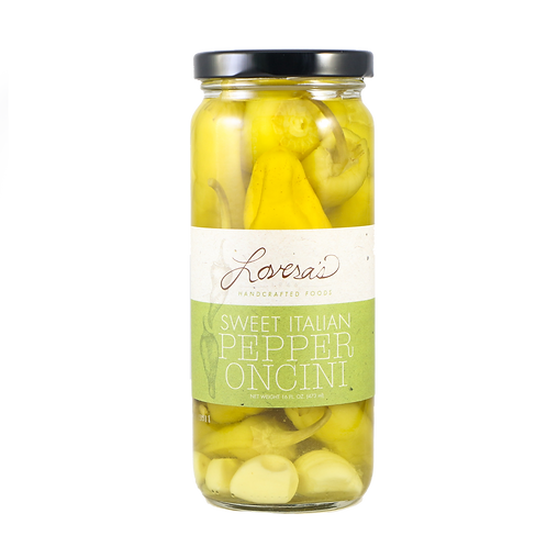 Lovera's Sweet Pepperoncini Peppers