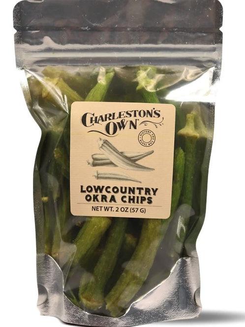 Charleston's Own Okra Chips
