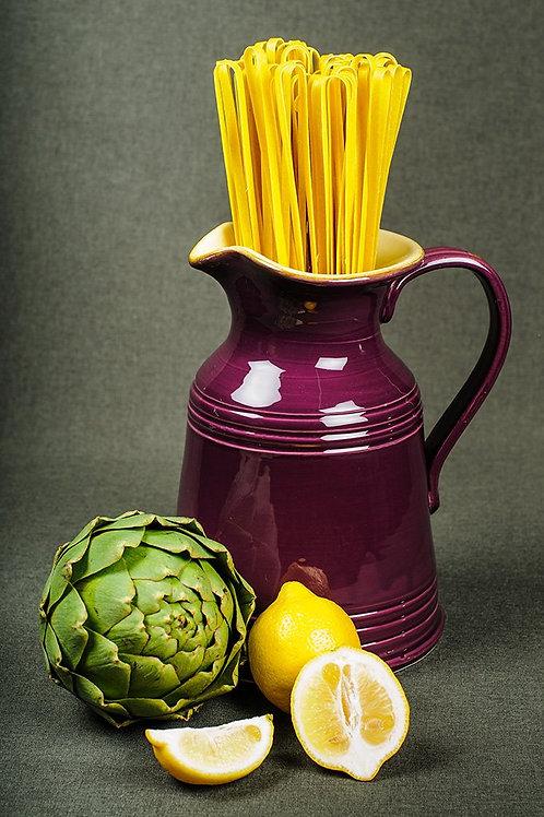 Papparedelle's Artichoke & Lemon Tagliatelle