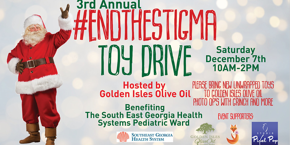 3rd Annual End the Stigma Toy Drive