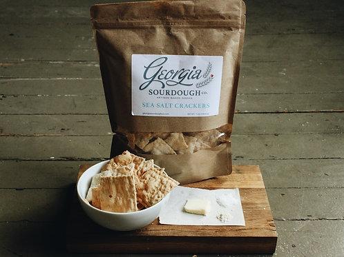 Georgia Sourdough Crackers - Sea Salt