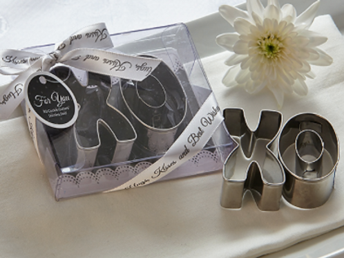 """XO Best Wishes"" Cookie Cutter Set"