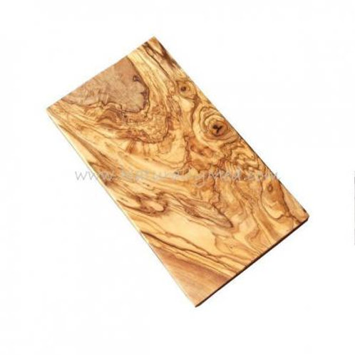 Olive Wood Cutting Board No Handle 12""