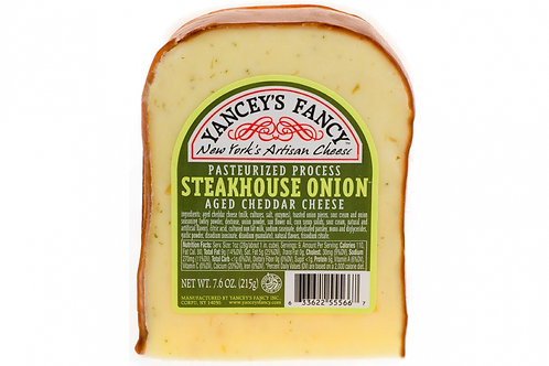 Yancey's Fancy Steakhouse Onion Cheddar Cheese